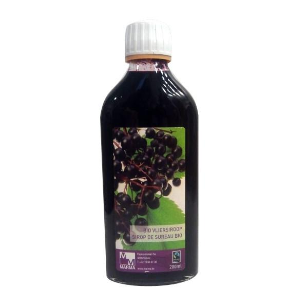 Sirop de sureau noir Bio 200 ml