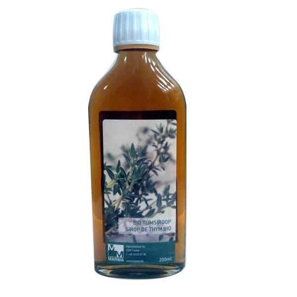Sirop de Thym Bio 200 ml (Sans sucre)