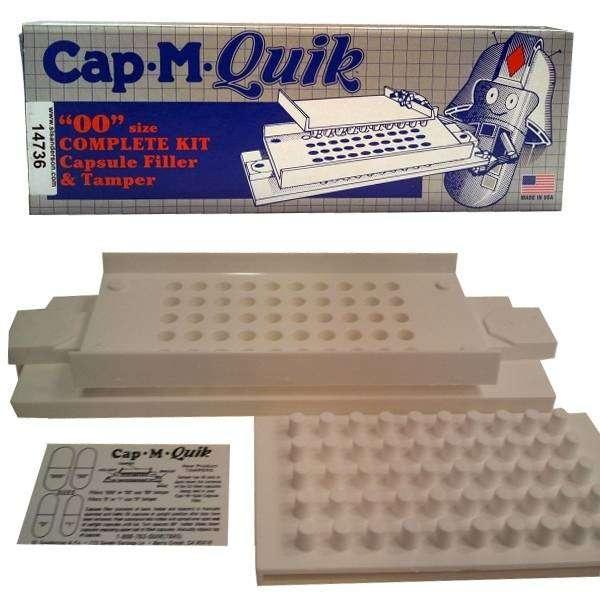 """Kit Gélulier Manuel Cap-M-Quick """"00"""" avec 250 gélules GRATUITES"""