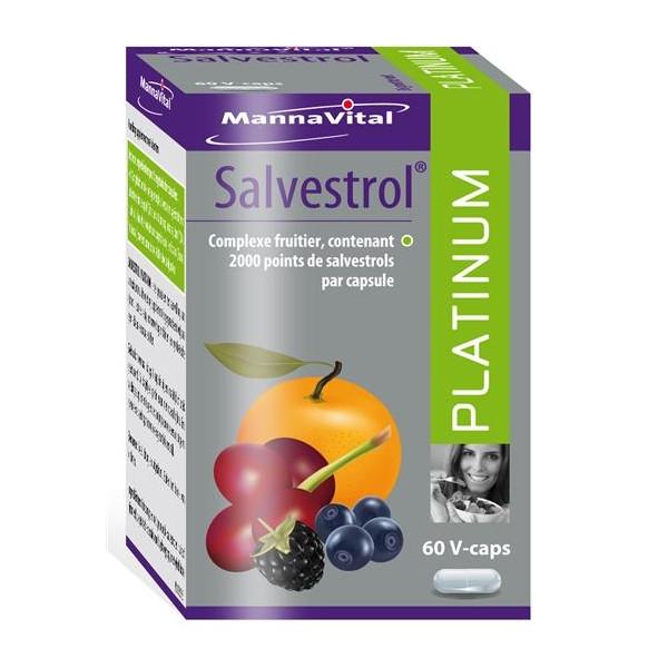 Salvestrol Platinum 60 gélules - Mannavital