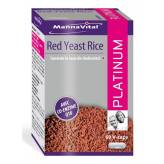 Red Yeast Rice Levure de riz rouge + Co-Q10 Platinum - Mannavital