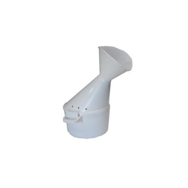 Inhalateur en plastique blanc