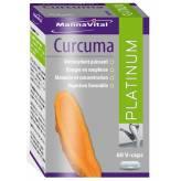 Turmeric Platinum (standardised extract) 60 capsules - Mannavital