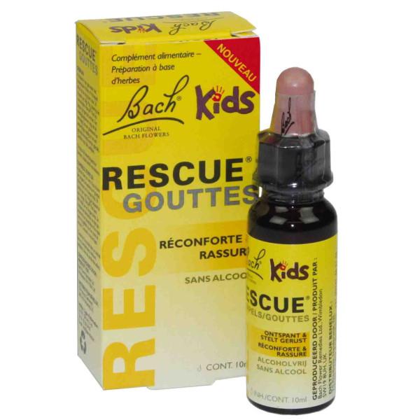 Rescue Kids gouttes 10 ml (sans alcool)