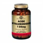 Acide Hyaluronic 120 mg 30 tablettes - Solgar