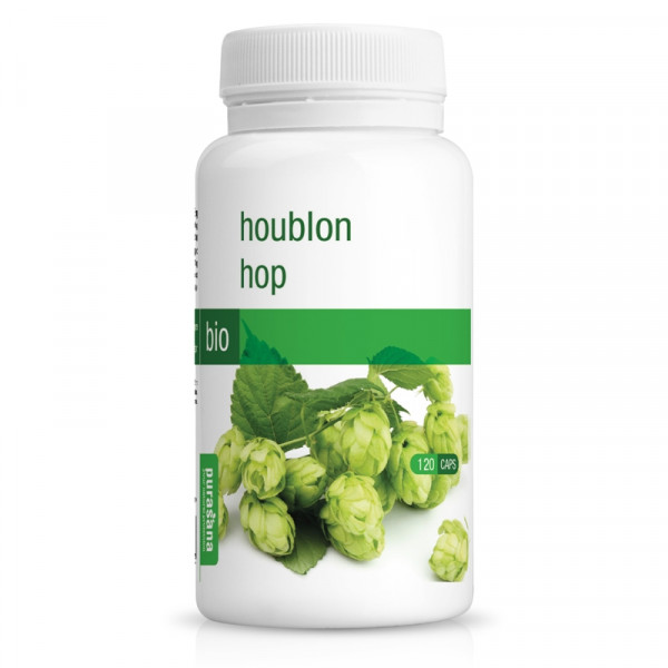 Houblon Bio 120 gélules - Purasana