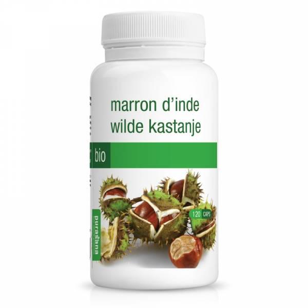 Marron d'Inde Bio 120 gélules - Purasana