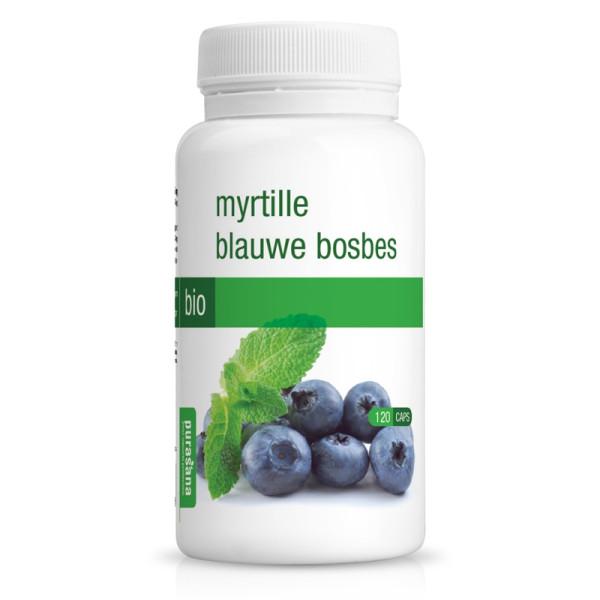 Myrtille Bio 120 gélules - Purasana