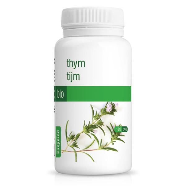 Thym Bio 120 gélules - Purasana
