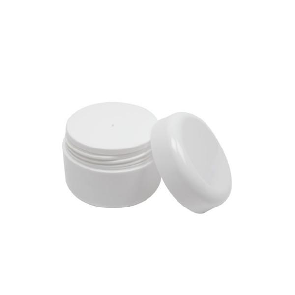 Pommadier couvercle à viser blanc (vide) 50 ml