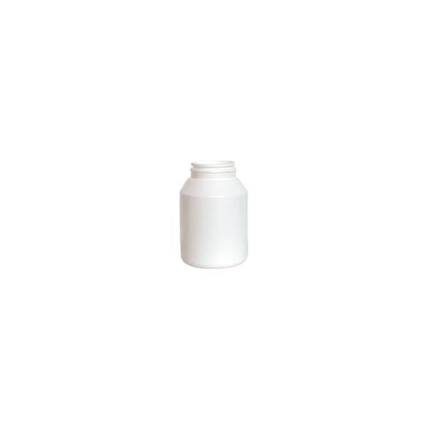 Pilulier blanc avec bouchon inviolable (vide) 100 ml