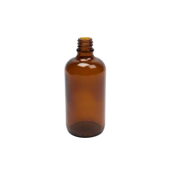 Flacon brun en verre 100 ml compte-gouttes (vide)