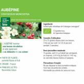 Teinture-mère Aubépine Bio - Crataegus monogyna 50 ml - Ladrôme