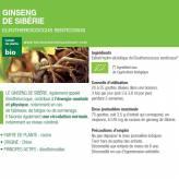 Teinture-mère Eleuthérocoque Bio - Senticoccus 50 ml - Ladrôme