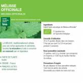Teinture-mère Mélisse Bio - Melissa officinalis - 50 ml Ladrôme