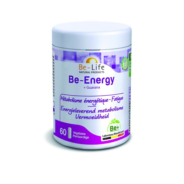 Be-Energy + Guarana 60 gélules - Be-life