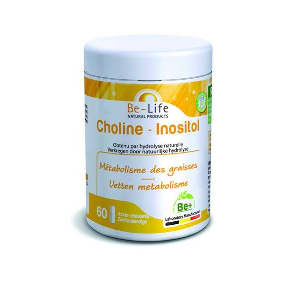 Choline-Inositol 60 caps - Be-Life