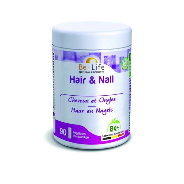 Hair & Nail 90 gélules - Be-Life