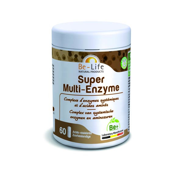 Super Multi-Enzyme 60 gélules - Be-Life