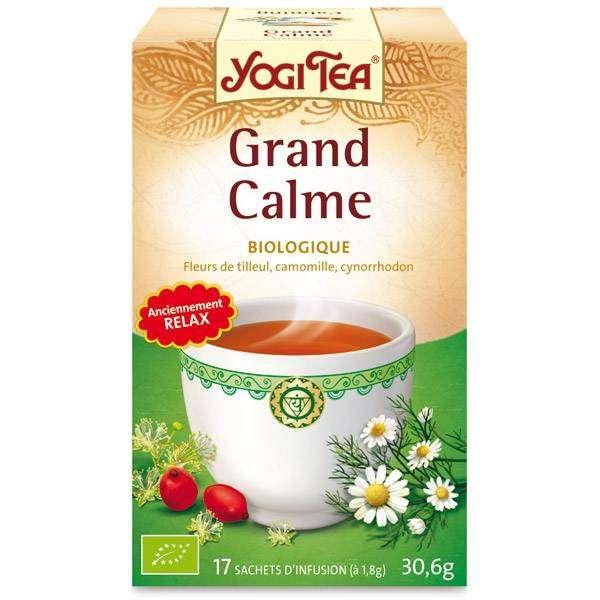"Yogi Tea  ""Calming""  Bio 17 sachets - Thé Ayurvedic"