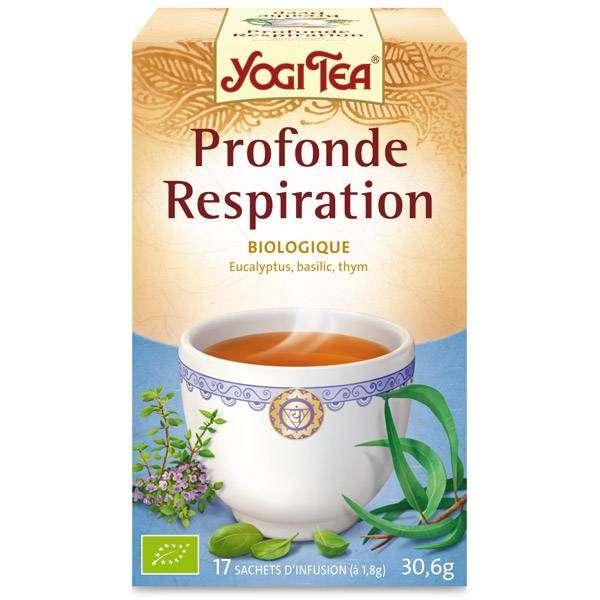 "Yogi Tea - ""Respiration"" Bio 17 sachets - Thé Ayurvedic"