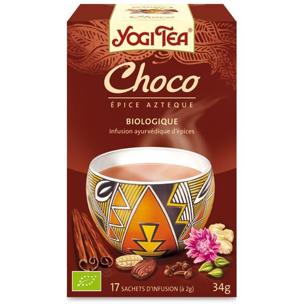 Yogi tea - Choco Bio 17 sachets - Thé Ayurvedic