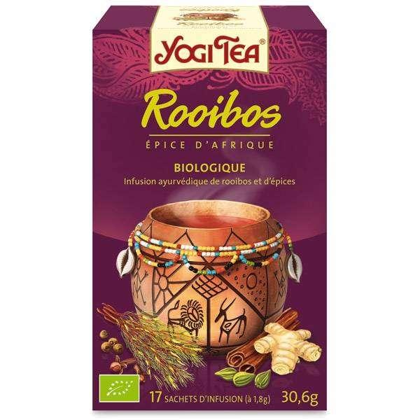 Yogi tea Rooibos  Bio 17 sachets -Thé Ayurvedic