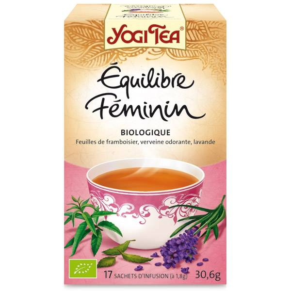 "Yogi Tea - ""Femme Equilibre"" 17 sachets Bio - Thé Ayurvedic"