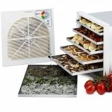 Dehydrator dryer (5 to 7kg) fruit and medicinal or aromatic plants - 12 trays - finish Deluxe stainless steel
