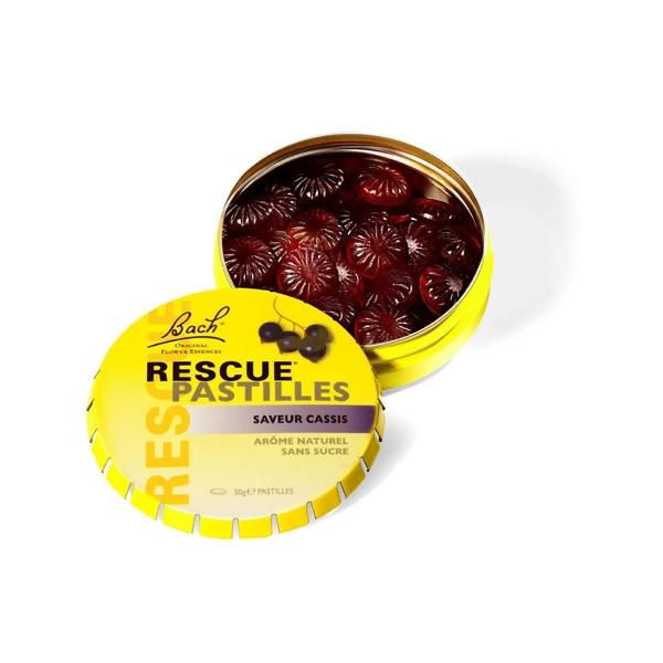 Rescue pastilles cassis 50 gr - Bach Original