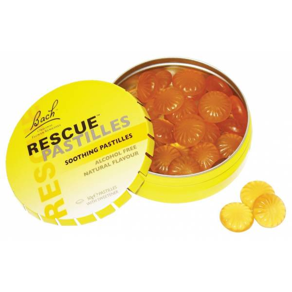 Rescue pastilles orange 50 gr - Bach Original