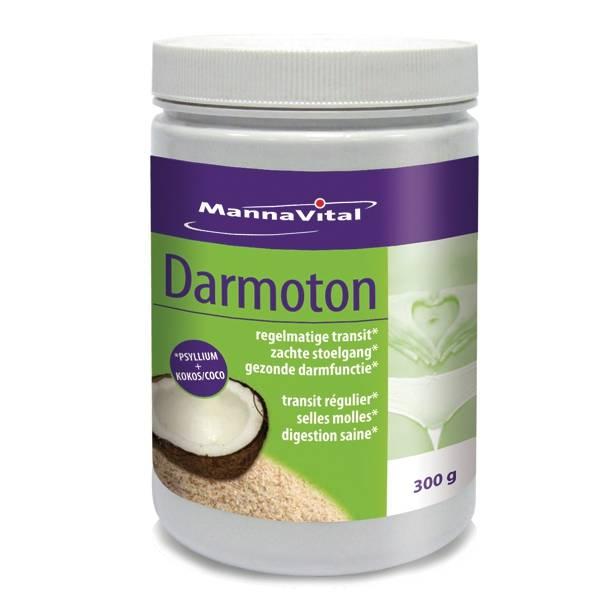 Darmoton (Psyllium+fibres de coco) 300G - Mannavital