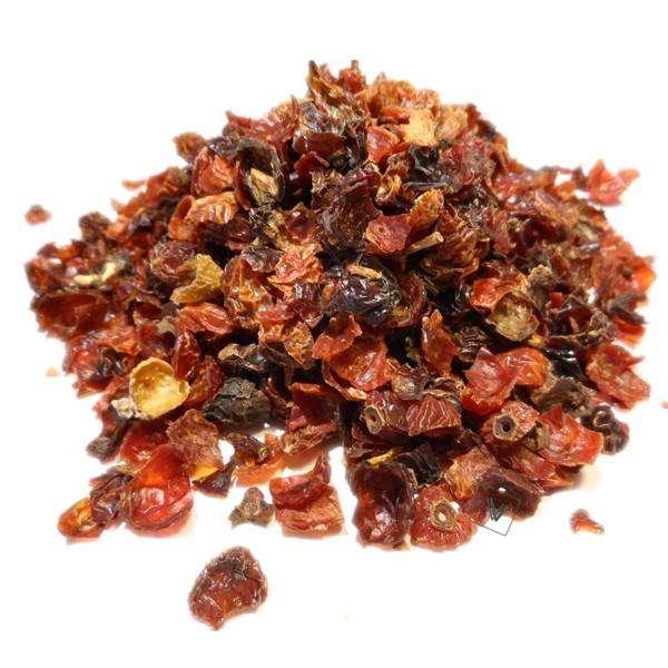 Eglantier - Rosa canina - Fruit coupé (exocarpe) Bio