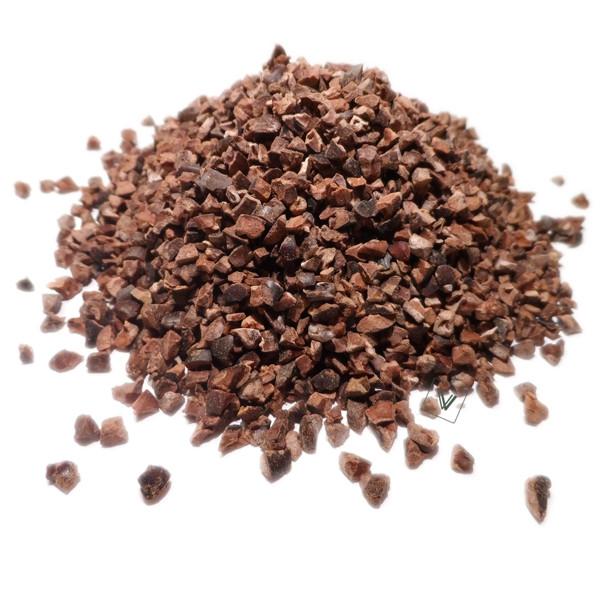 Cacao torréfié - Theobroma cacao - Fêve coupée torréfiée
