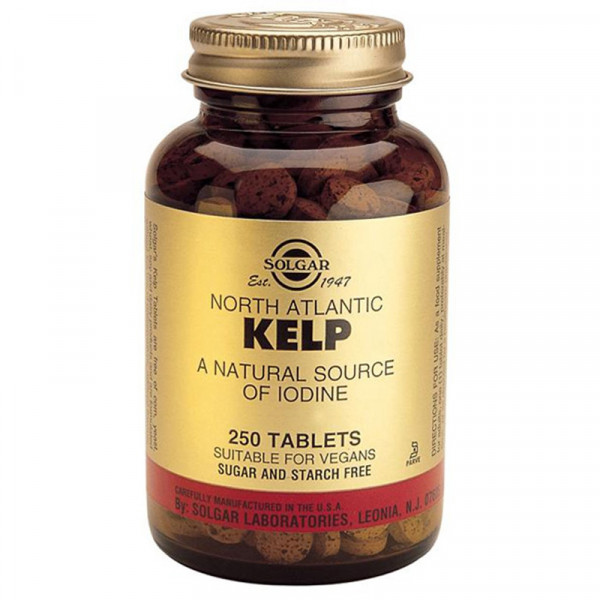 Kelp 250 comprimés - Solgar