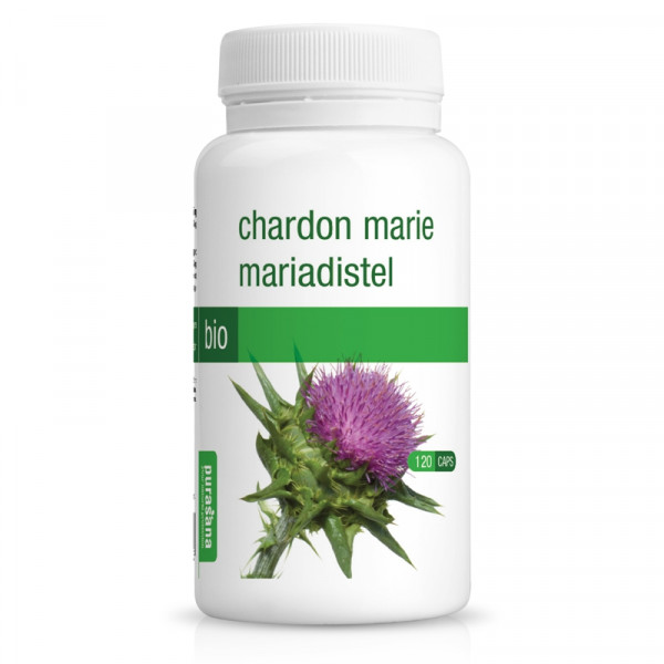 Chardon Marie Bio - 120 gélules Purasana