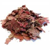 Vigne Rouge - Feuille extra rouge coupée gros - 100 gr