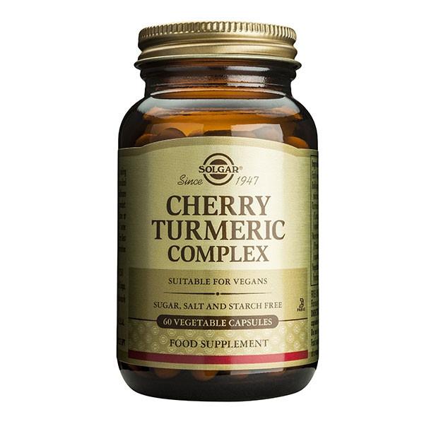 Cherry Turmeric Complex (Extrait de Griottes et de Curcuma) 60 gélules végétales - Solgar
