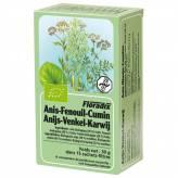Tisane de Anis vert - Fenouil - Cumin Bio 15 infusetes - Salus