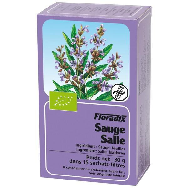 Tisane de Sauge Bio 15 infusettes - Salus