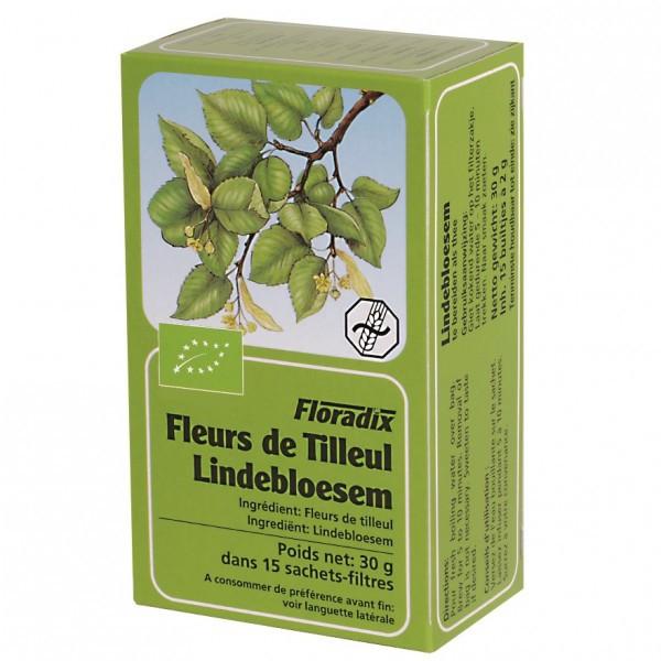 Tisane de Fleurs de Tilleul Bio 15 infusettes - Salus