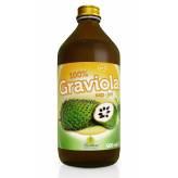 Graviola 100% pur jus de fruits d'Annona muricata 500 ml - Martera