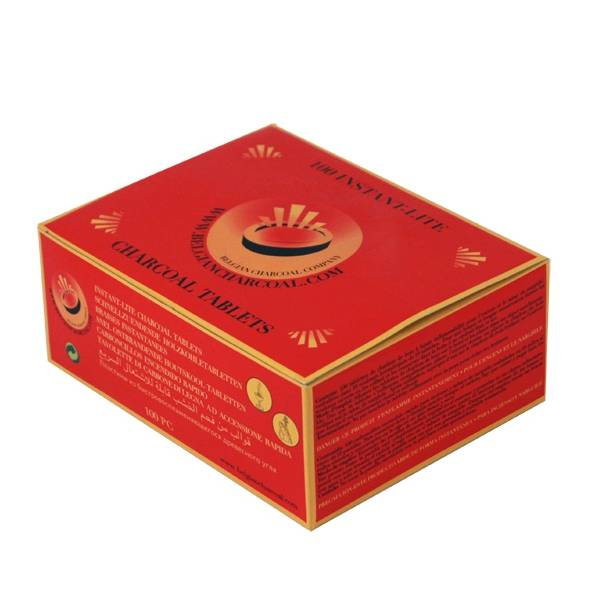 Charbons à brûler 33 mm en rouleaux de 10 braises - Boîte de 10 rouleaux