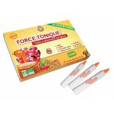 Force Tonique (Gelée royale - Propolis verte - Pollen - Acérola - Ginseng - Guarana ) 10 unicadoses de 10 ml Bio - Propos'Nature