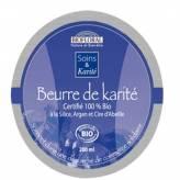 Beurre de Karité à la silice, argan et cire d'abeille Bio 200 ml - Biofloral
