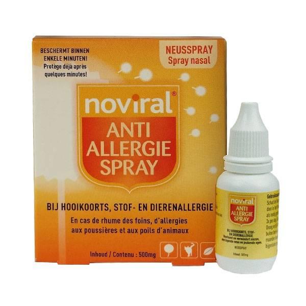 Noviral Spray Anti Allergie 500 mg - TS Product