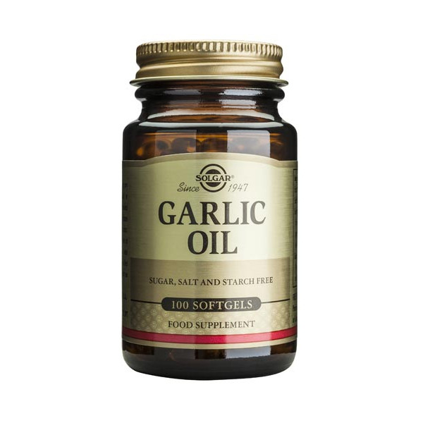 Garlic Oil 100 softgels - Solgar