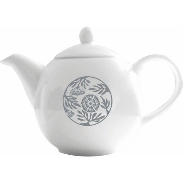 Tisanière Hildegarde de Bingen 0.8 L en porcelaine d'art - Florisens
