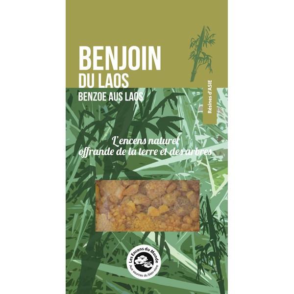 Résine naturelle Benjoin du Laos 20 gr - Les Encens du Monde
