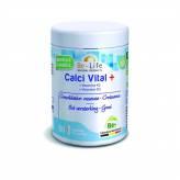 Calci Vital + (Calcium, Magnésium Vit. K2, Vit. D3) 60 gélules végétales - Be-Life
